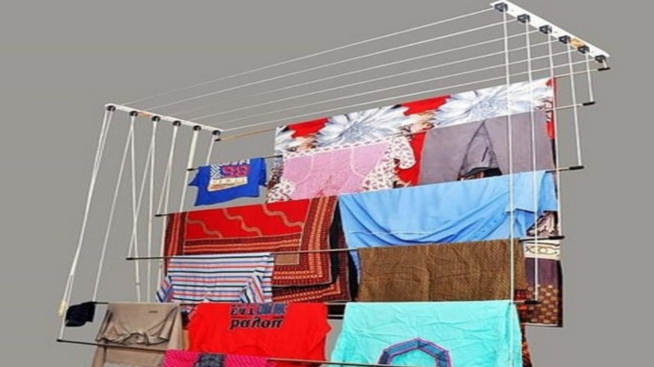Pulley Cloth Drying Hanger by Madhu Traders