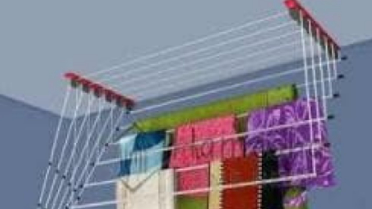 Roof Cloth Drying Hanger by Madhu Traders